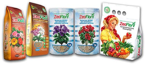 грунты и почвоулучшители ZeoFlora