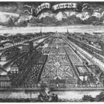 Летний сад. Гравюра А. Зубова. 1717 г.