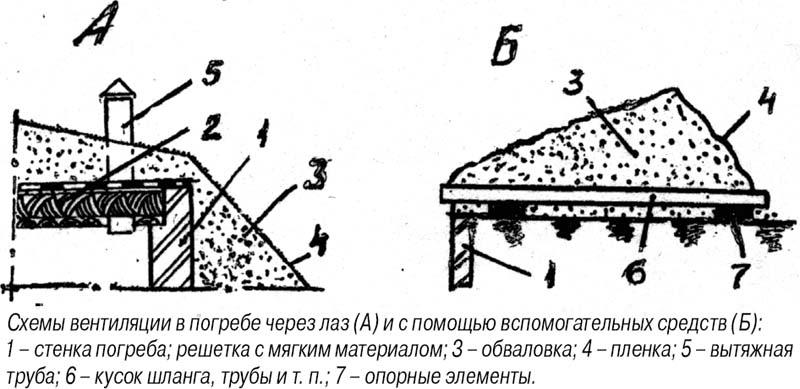 Хранилище (рисунки А и В)