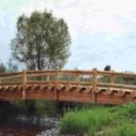 мостик, малые архитектурные формы
