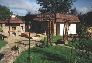 использование камня в обустройстве садового участка
