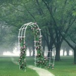 арка, ландшафтный дизайн, малые архитектурные формы