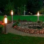 светильники для освещения садовых дорожек