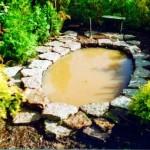 заполнение искусственного водоема водой