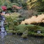 водопад в восточном саду
