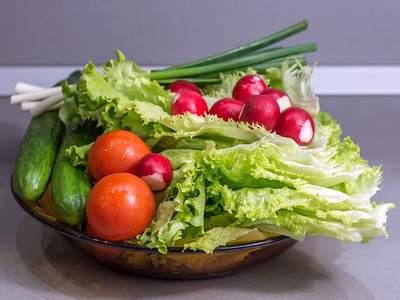 Овощи, витамины