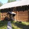 Дом с тесовой крышей