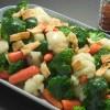 Овощи на блюде