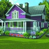 Рис. 10. Пример проекта, созданного в Punch Master Landscape and Home Design