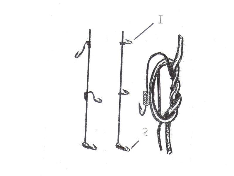 Как привязывать крючки и мормышки