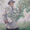Портрет И. В. Мичурина работы художника А. М. Герасимова