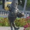 Памятник огурцу в г. Шклов (Беларусь)