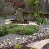Скромный сад в японском стиле