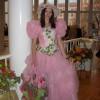 Богиня Флора - участница праздника Праздник в Октябрьском