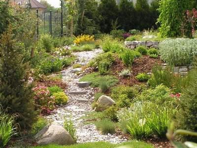 Сад природный