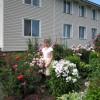 В саду О.В. Рубцовой