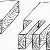 Оконные переплёты на двух и на трёх шипах