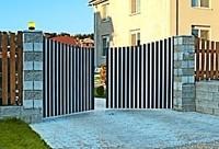 Ворота распашные ALUTECH