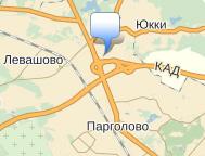 Рикон на карте